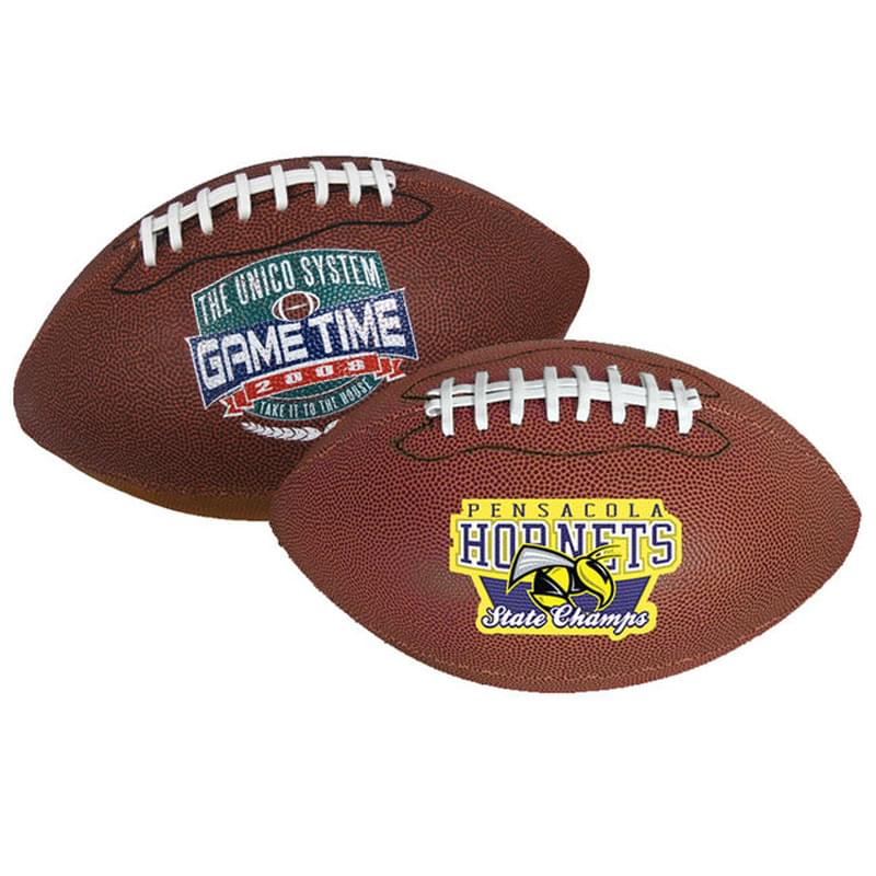 "14"" Synthetic Leather Footballs (Full–Size)"
