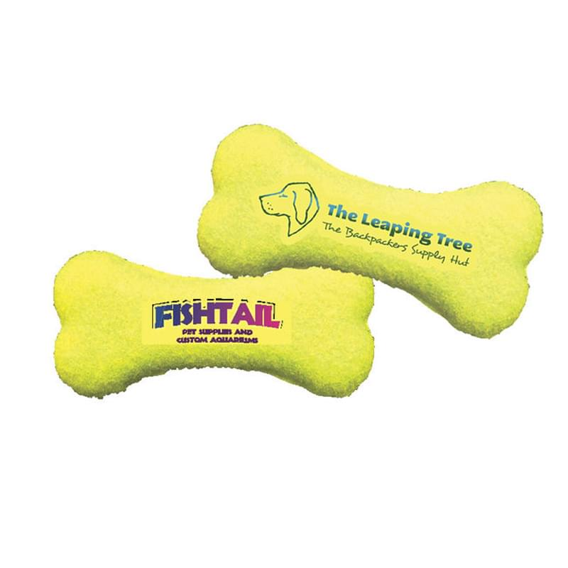 Pet Products Toy Bone Shaped Tennis Balls