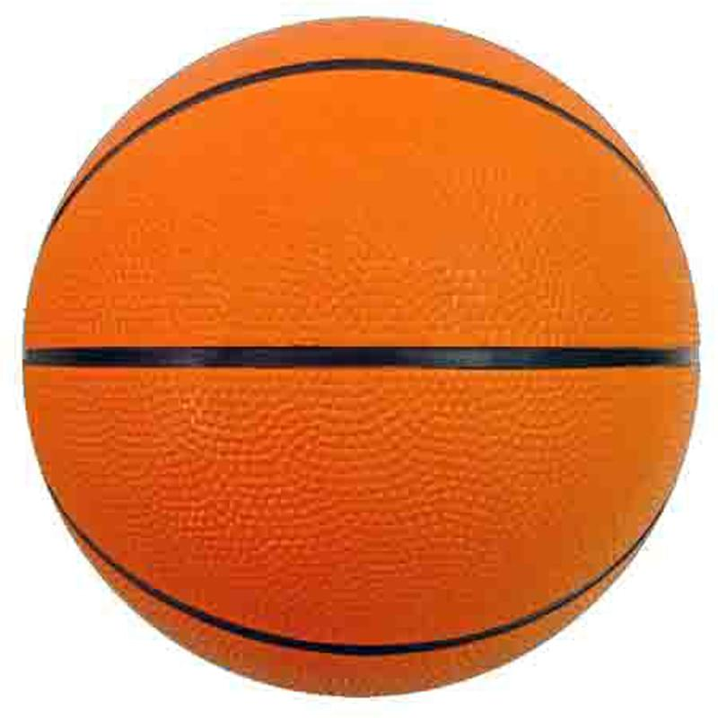 "5"" Mini Rubber Basketball"