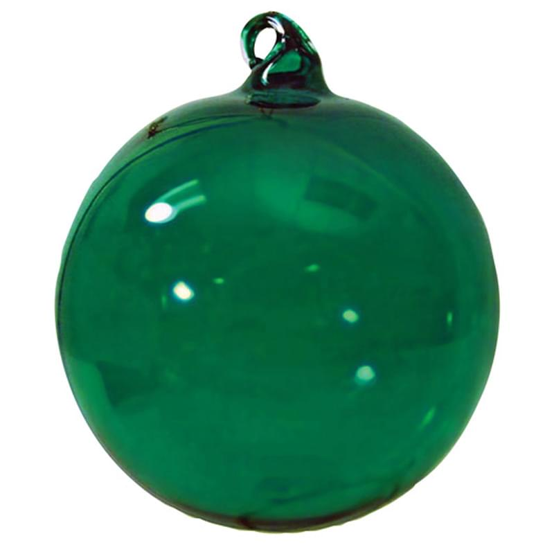 "3"" Hand Blown Glass Ornament"