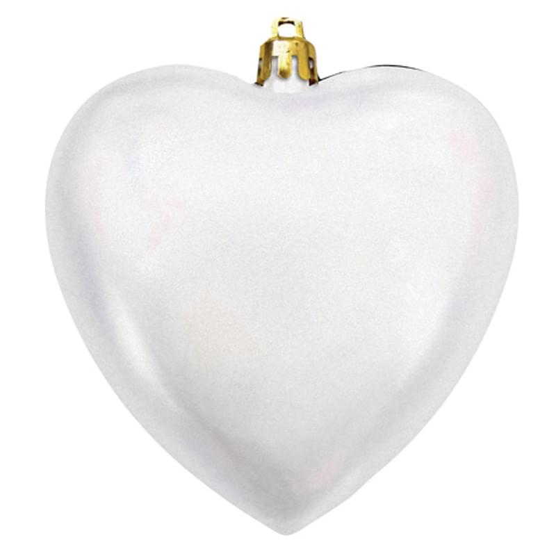 "4"" Heart Shatterproof Ornament"