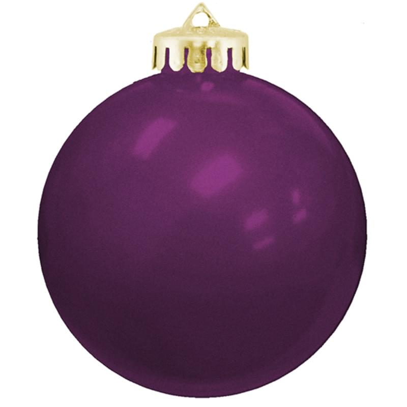 "3 1/4"" USA Made Round Shatterproof Ornament"