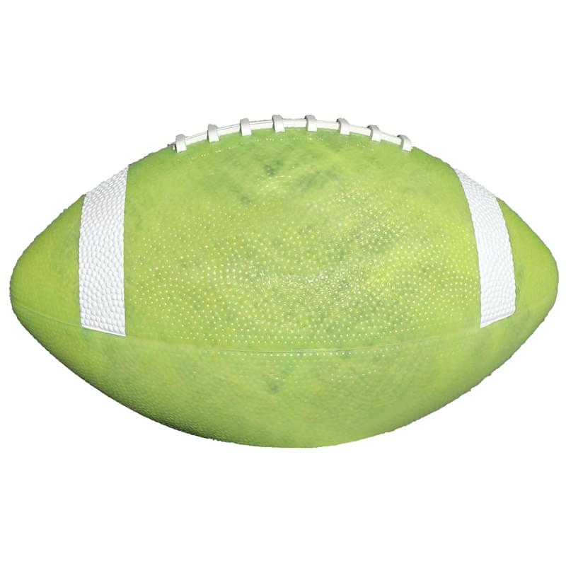 "10 1/2"" Small Glow-in-Dark Rubber Football"