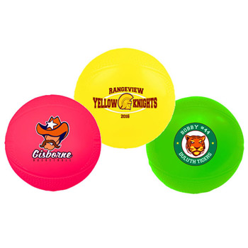 "4 1/4"" Mini Vinyl Basketball"