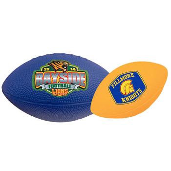 "10"" Solid Color Foam Football"