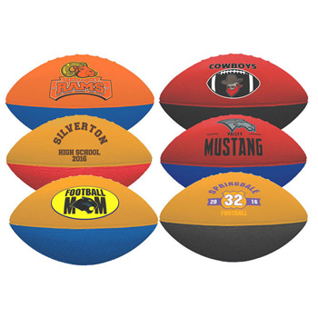 "7"" 2-Toned Foam Football"