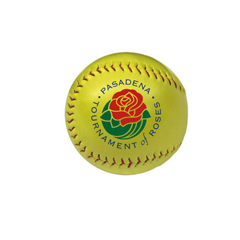 Optic Yellow Synthetic Leather Softball