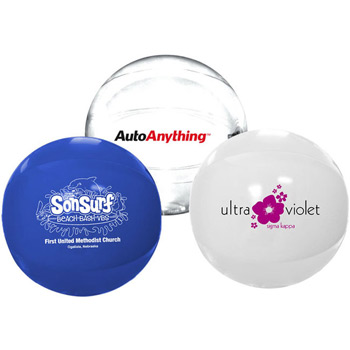"12"" Solid-Color Beach Ball"