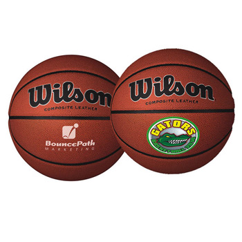 "9"" Wilson® Composite Leather Basketballs (Full-Size)"