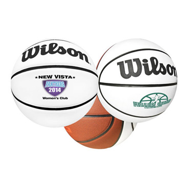 Full Size Wilson® Synthetic Leather Signature Basketball
