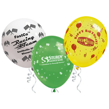 "11"" Standard Latex Wrap Balloon"