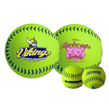 Wilson® Official Optic Yellow Synthetic Softball