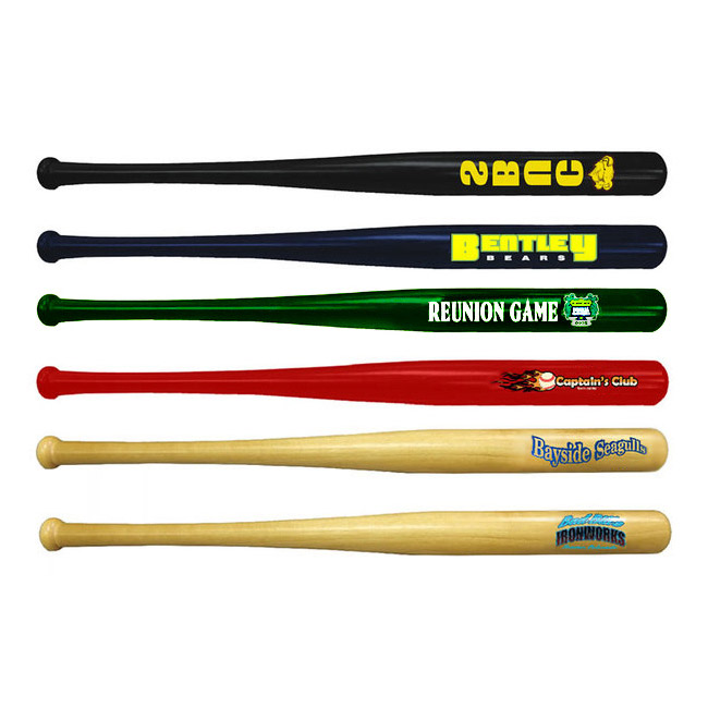 "18"" Mini Wooden Baseball Bat"
