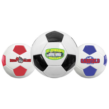 Full Size Synthetic Leather Soccer Ball (Size 5)