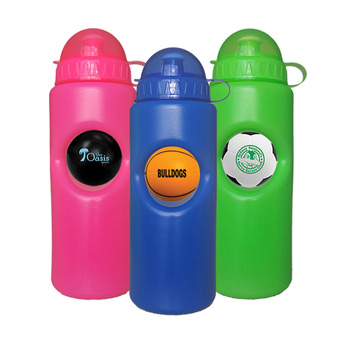 20 OZ. Stress Ball Water Bottles