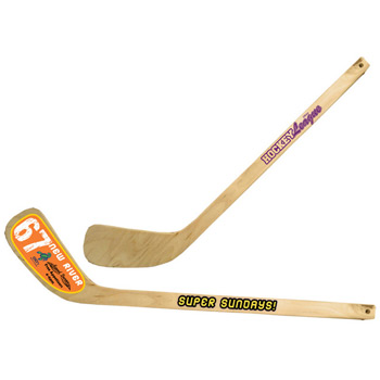"24"" Wooden Hockey Stick"